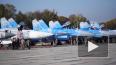 В небе над Украиной  истребители Су-27 одержали победу ...