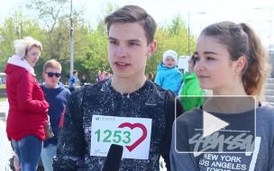 """В Петербурге опубликована программа забега """"Зеленый марафон """"Бегущие сердца"""""""
