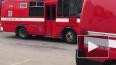 Пожар в бизнес-центре на Седова тушили 12 спецмашин