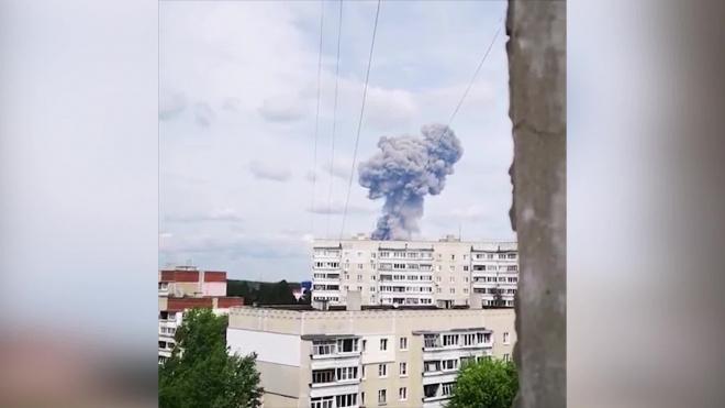 В Дзержинске произошли два взрыва