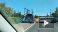 На Рябовском шоссе новая маршрутка съехала с трассы ...