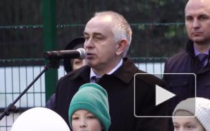 В Высоцке завершился капитальный ремонт школьного стадиона