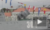 В Петербурге репетируют морской парад в честь Дня ВМФ