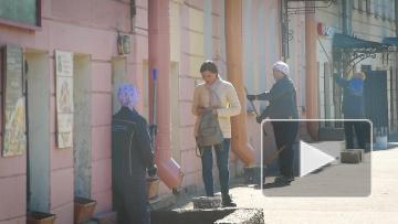 На улицах Петербурга идет генеральная уборка