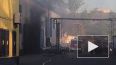 Пожар на шоссе Революции: подробности инцидента