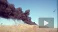 Страшный пожар в Николаевке попал на видео