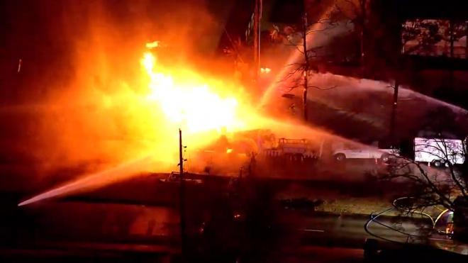 Шесть человек госпитализировали после взрыва природного газа в Техасе