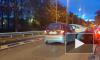 Три машины столкнулись на набережной реки Карповки