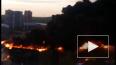 Во время крупного пожара в автосалоне в Кемерово пострад...