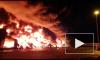 В ангаре на Московском шоссе горели каучук и химические удобрения