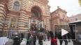 На юбилее петербургской синагоги стреляла пушка, лилось ...