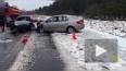 В аварии в Ленобласти погибла женщина и пострадал ...