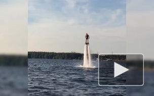 Александр Овечкин покоряет водную стихию