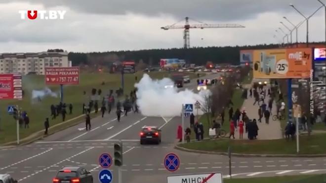 СК Белоруссии возбудил дело о массовых беспорядках в Минске