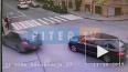 Видео с камеры наблюдения: на Гороховой Subaru вылетел ...