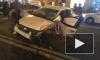 На Невском в массовом ДТП столкнулись 5 автомобилей