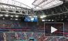 Фанаты разогревались песнями перед матчем Россия-Египет