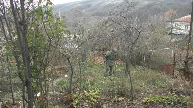 Российские военные разминировали более 150 га в Нагорном Карабахе