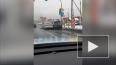 Две иномарки столкнулись возле ж/д переезда в Парголово