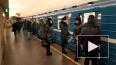Видео: утром в метро Петербурга заметили много пассажиро...