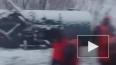 В Омской области поезд сошел с рельсов (видео)
