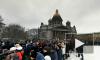 Митингующие оккупировали Исаакиевский собор и требуют отставки губернатора