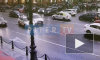 Момент ДТП на Невском проспекте попал на видео