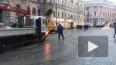 Строители заканчивают ремонт участка пешеходной зоны ...