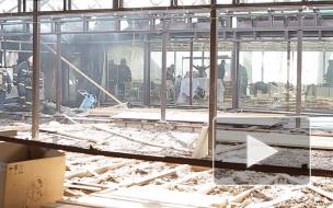 Пожарных, тушивших ресторан, испугал залп с Петропавловки