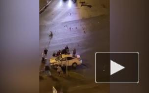 Авария на перекрёстке Луначарского и Художников 2