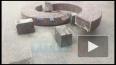 На Думской вандалы разломали гранитную скамейку