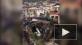 Видео: в Дагестане рухнул мост с машинами