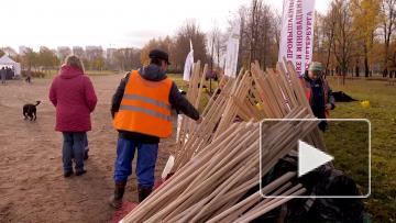 На уборку города вышли более 200 тысяч петербуржцев