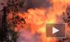 Огненное видео из Воронежа: Во дворе жилых дворов прорвало газовую трубу