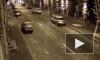 Камеры наблюдения зафиксировали падение автомобиля BMW в Фонтанку