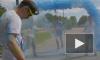 """На """"Красочном буууме"""" петербургские бегуны попали под разноцветный дождь"""