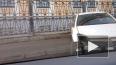 Фото: На Фонтанке автомобиль влетел в ограждение