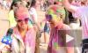 На фестивале красок холи петербуржцы испортили тонну одежды