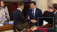Зеленский отказался пожимать руку депутату рады Гончарен...