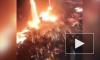 На металлургическом заводе Украины цех залило тоннами расплавленного чугуна (видео)
