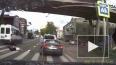 Жуткое видео из Смоленска: Маршрутка сбила девушку ...