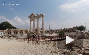 Храм Аполлона в Сиде. Достопримечательности Сиде