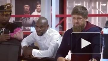 Флойд Мэйвезер посетил Чечню по приглашению Рамзана Кадырова