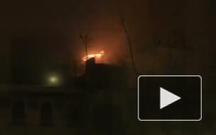 Пожар в Москве: ночью в Каретном ряду горел старинный особняк