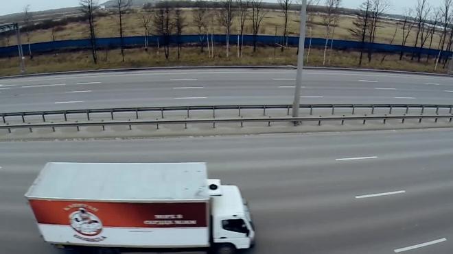 Во вторник перекроют заезд на КАД с Колтушского шоссе