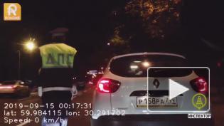 Водитель-наркоман устроил погоню на Приморском шоссе