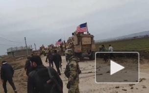 Появилось видео конфликта с участием солдат армии США в Сирии