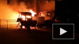 Видео: на Восстания сгорели трактор и УАЗ