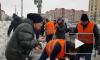 """Уборкой снега на """"Гражданском проспекте"""" занимался Николай Бондаренко"""