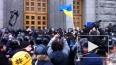 Новости Украины: в Харькове митингующие штурмуют горсове...